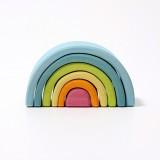 Grimms - lille regnbue - 6 dele - pastelfarver