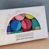 Grimms - triangel square - 30 geometriske byggeklodser