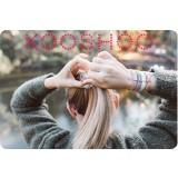 Kooshoo - økologiske hårelastikker - 5 stk. - blond