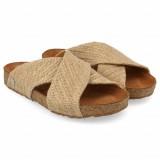 Haflinger - sandaler - Bio Mio - hør natur