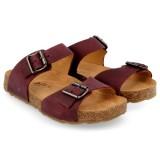 Haflinger - sandaler - Bio Andrea - bordeaux
