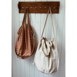Haps Nordic - stor taske - shopping bag - terracotta wave
