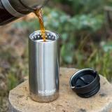 Klean Kanteen - TKWIDE- termokop 355 ml. - café cap - marigold