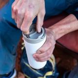 Klean Kanteen - TKWIDE- termoflaske 473 ml. - café cap - stål