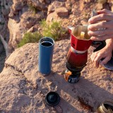 Klean Kanteen - TKWIDE- termoflaske 592 ml. - café cap - real teal