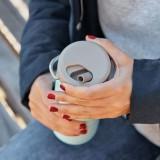 Klean Kanteen - TKWIDE- termoflaske 592 ml. - twist cap - black