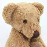 Kallisto - økologisk bamse - klassisk brun bjørn - 24 cm.