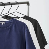 Living Crafts - herre - kortærmet t-shirt - 2-pak - marine