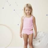 Living Crafts - trusser - GOTS bomuld - rosa melange