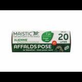 Maistic Bio Group - plastfri skraldepose - WaveCut - 20 liter - 14 stk.