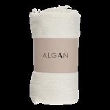 Algan - Nane badelagen - 100x180 cm. - råhvid