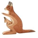 Ostheimer - kænguru med unge