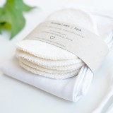 Pargaard - vaskepose/makeup pung og 5 stk. øko-rondeller
