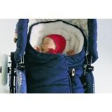 Prolana - kørepose|sovepose|voksipose - marineblå