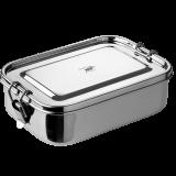 Pulito - madkasse i stål - helt tæt - medium