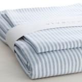VivaTex - sengesæt - baby & junior - seablue stribe