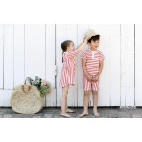 Snork Copenhagen - Wilhelm pyjamas - red seastripes