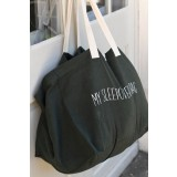 snork copenhagen - sleepover bag/weekendtaske - olivengrøn