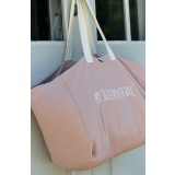 snork copenhagen - sleepover bag/weekendtaske - rosa