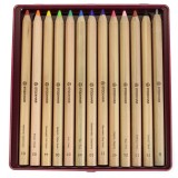 Stockmar - farveblyanter - sekskantede - 12+1