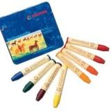 Stockmar - bivoksfarver - 8 bivoksstifter