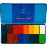 Stockmar - bivoksfarver - 16 bivoksblokke