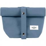 The Organic Company - lunchbag - grey blue