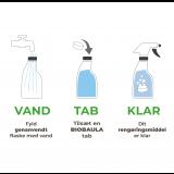 BioBaula - økologisk badrengøring - 3 tabletter