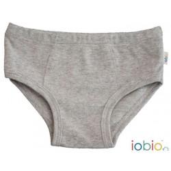 Iobio - underbukser - gots bomuld - grå