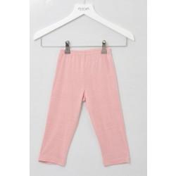 Alkena - bukser - bourette silke - støvet rosa