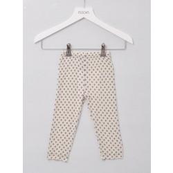 Alkena - bukser - bourette silke - natur m. stjerner