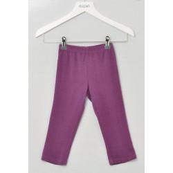 Alkena - bukser - bourette silke - mørk lilla