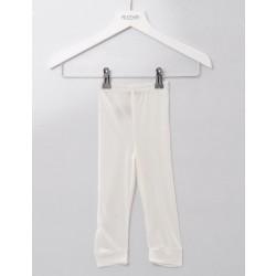 Alkena - babyleggings - økologisk silke - natur