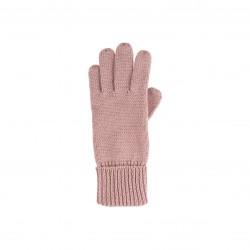 Pure Pure - fingerhandsker - merinould - støvet rosa