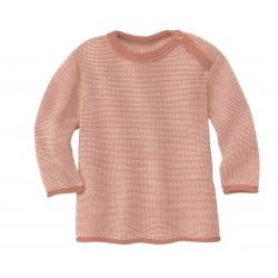 DISANA - striktrøje - rosé/natur