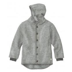 DISANA | uldjakke | kogt uld | grå