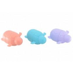 Play and store - 3 skildpadder til sjov leg - koral-lilla-grøn