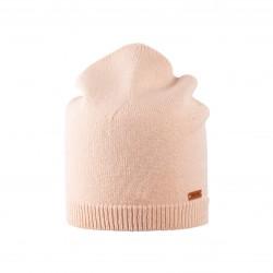 Pure Pure - beanie til voksne - merinould & kashmir - lys duset rosa