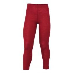 Engel - leggings - uld - rød melange