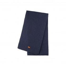 Pure Pure - stort halstørklæde - merinould & kashmir - marine