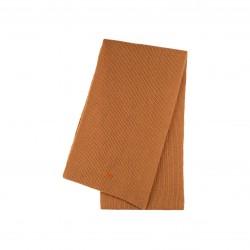 Pure Pure - stort halstørklæde - merinould & kashmir - tobacco