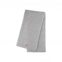 Pure Pure - stort halstørklæde - merinould & kashmir - grå melange