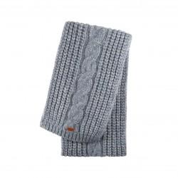 Pure Pure - halstørklæde - alpaca & bomuld - grå melange