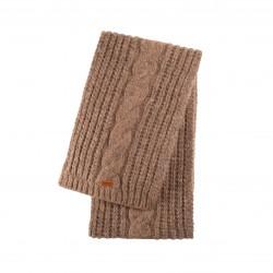 Pure Pure - halstørklæde - alpaca & bomuld - valnød