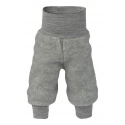 Engel - bukser i økologisk uldfleece - grå