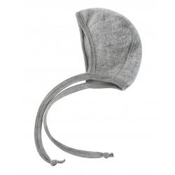 Engel | babyhue i uldfleece | grå