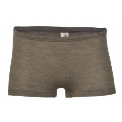 Engel - dame hotpants - uld & silke - valnød