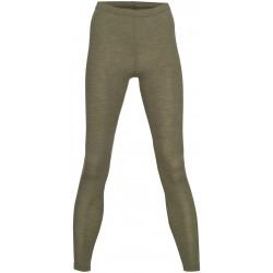 Engel - dame leggings - uld & silke - olive