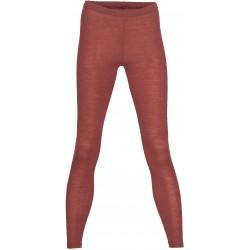 Engel - dame leggings - uld & silke - kobber