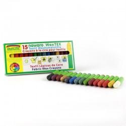 ÖkoNORM - tekstilfarver - bivoks - 15 farver